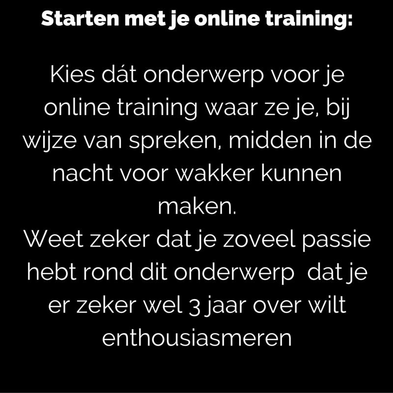 Onderzoek online training_ Bevraag het probleem en benoem mogelijke resultaten en oplossingen.